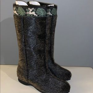 Vintage winter boots woman's 6